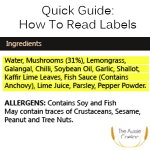 How to read labels