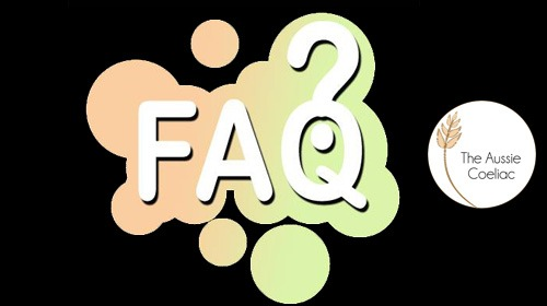 Frequently Asked Coeliac Questions