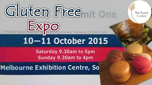 Melbourne Gluten Free Expo and Conference 2015