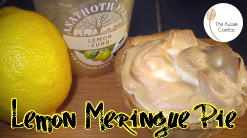 Gluten Free Lemon Meringue Pie Coeliac