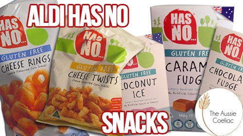 Aldi Has No Gluten Free Snacks Review