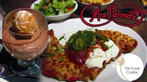 Gluten Free Restaurant Melbourne Mrs Parmas