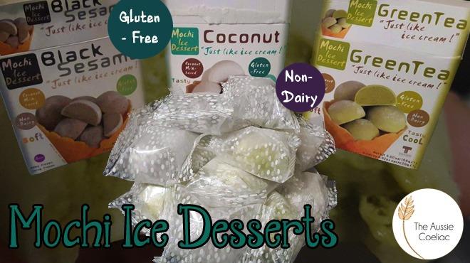 Gluten Free Mochi Ice Desserts