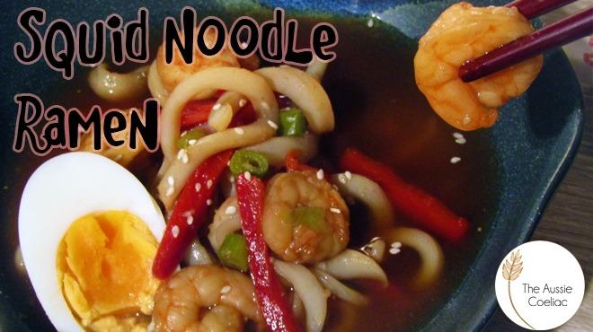 Gluten Free Squid Noodle Ramen Recipe