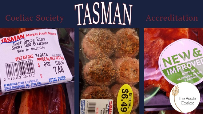 Tasman Meats Coeliac Accreditation