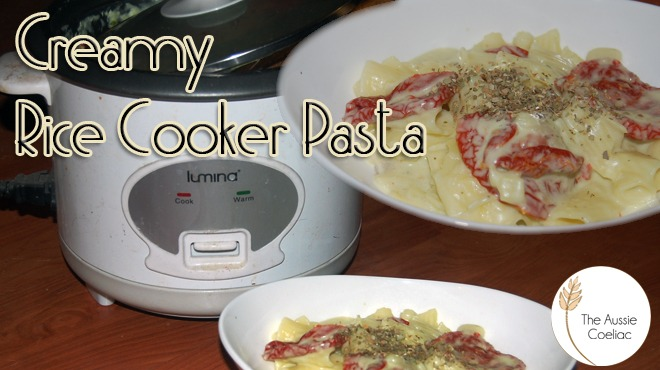 Gluten Free Dairy Free Pasta Recipe