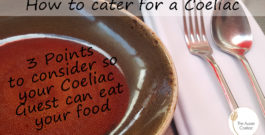 How to cater for a Coeliac