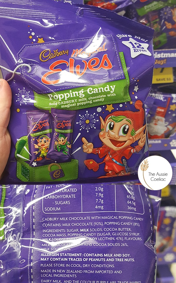 Chocolate Elves With Popping Candy