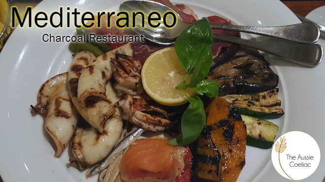 Mediterraneo Charcoal Restaurant Coeliac Society Accredited