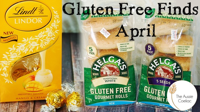 Gluten Free Finds April