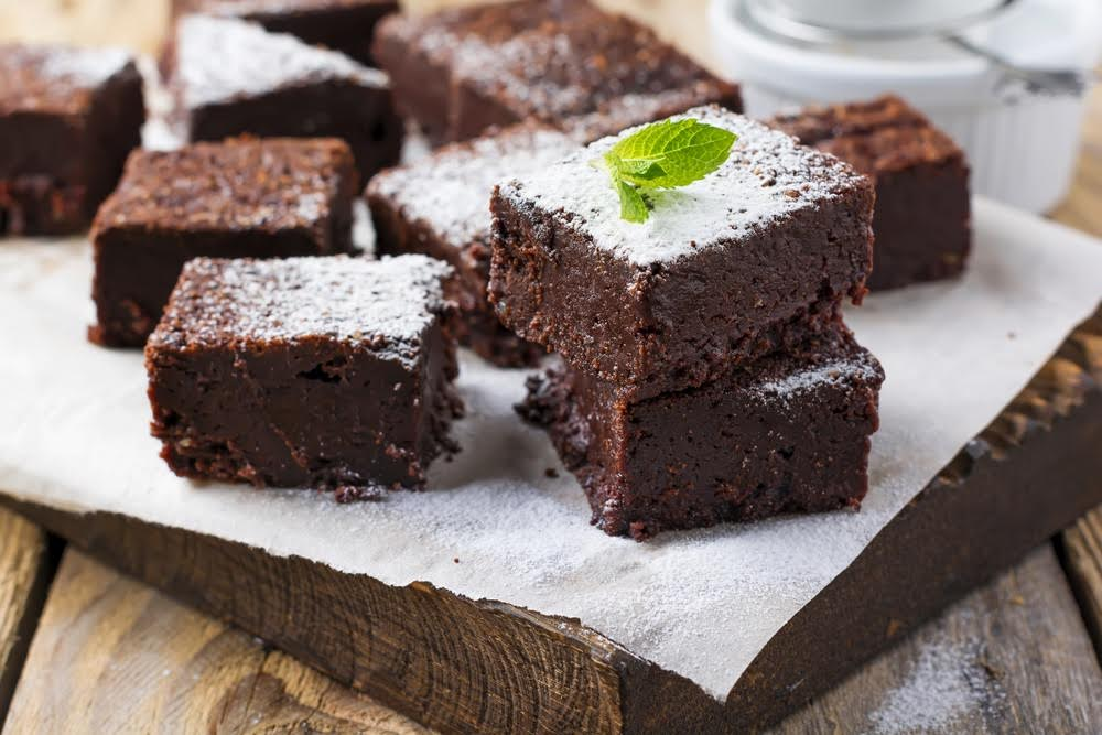 Gluten Free Almond Flour Brownies
