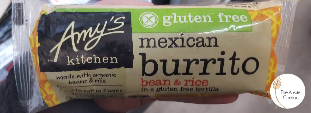 Gluten Free Vegan Burrito
