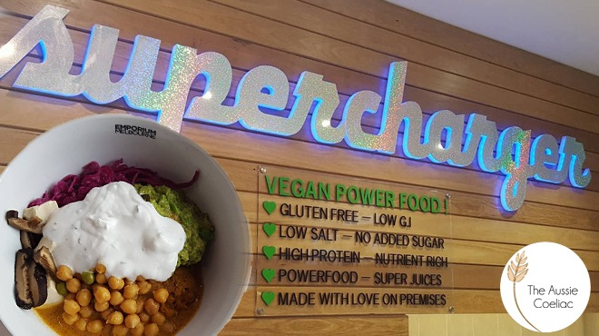 Supercharger Vegan Gluten Free