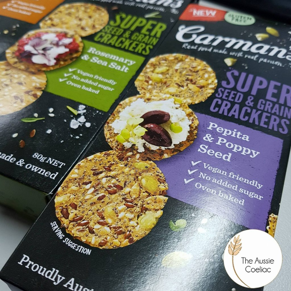 Carman's Gluten Free Super Seed Crackers