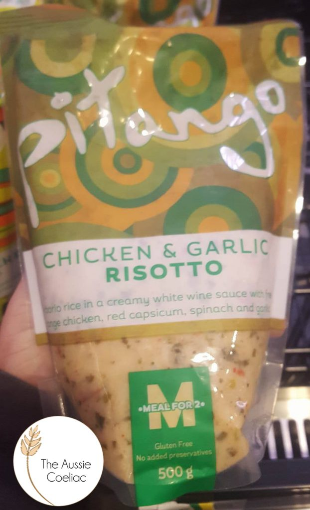 Gluten Free Chicken and Garlic Risotto