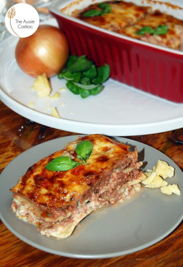 Gluten Free Lasagne Slice