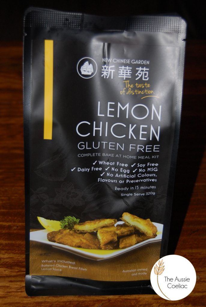Gluten Free New Chinese Garden Meal Kit
