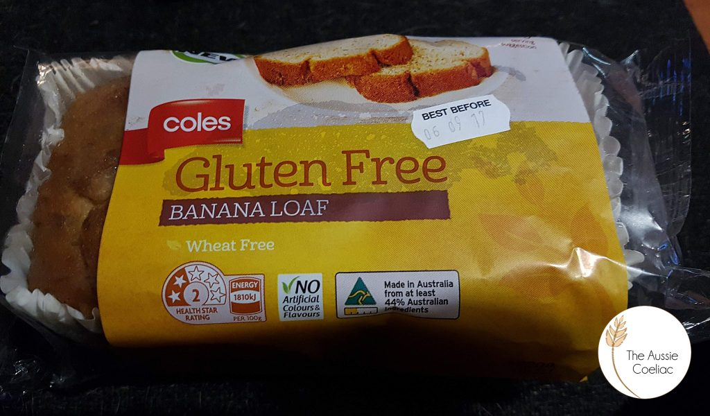 Gluten Free Banana Loaf Coles
