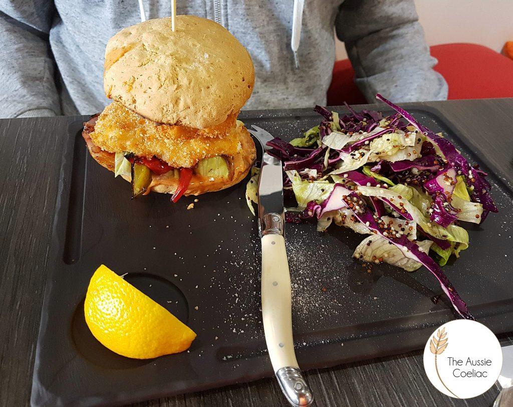 Gluten Free Friendly Burger