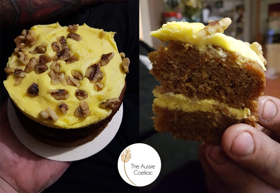 Coles Gluten Free Carrot Cake