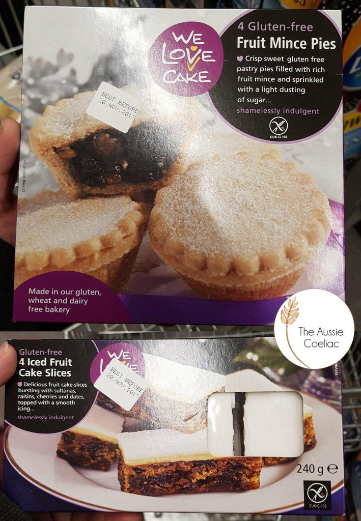 Woolworths Gluten Free Iced Christmas Cake Slices