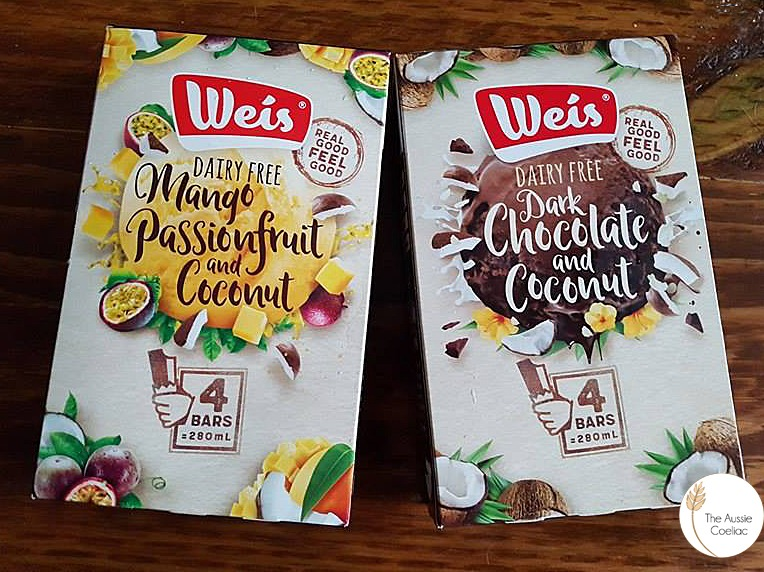 Dairy and Gluten Free Weis