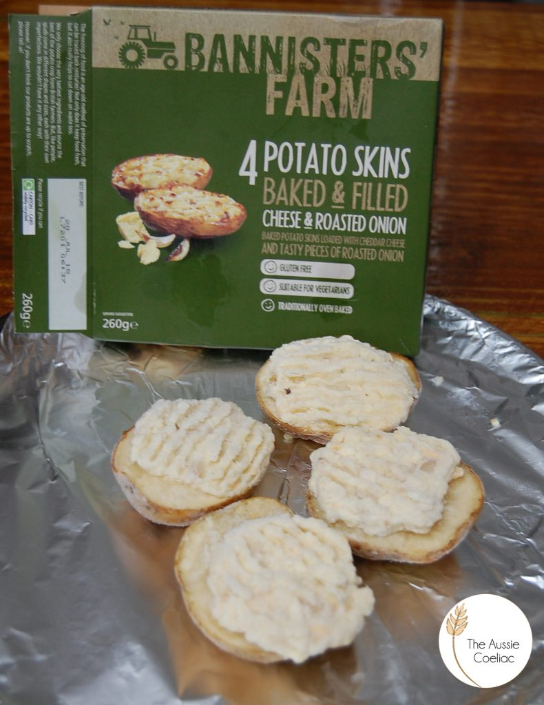 Bannisters Farm Onion and Cheese Potato Skins