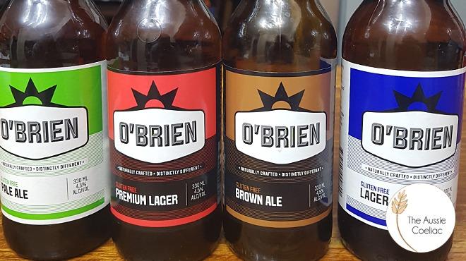 O'Brien Gluten Free Beer