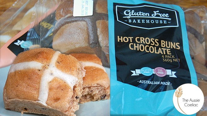 Gluten Free Bakhouse Hot Cross Buns