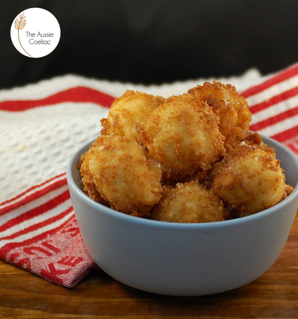 Vegan Low Fodmap Mac and Cheese Balls
