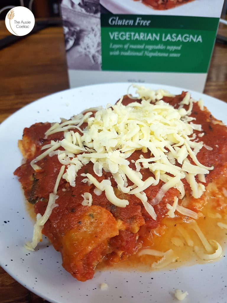 Tutto Pasta Frozen Meals The Aussie Coeliac