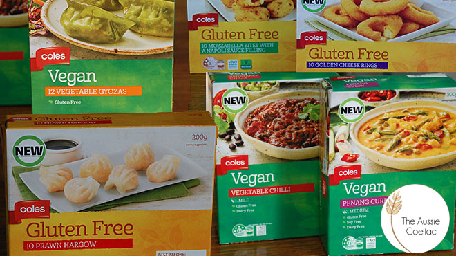 New Coles Branded Products The Aussie Coeliac