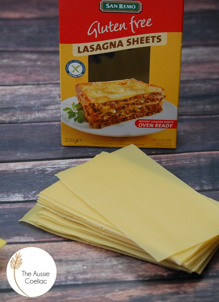 San Remo Lasagna Sheets The Aussie Coeliac