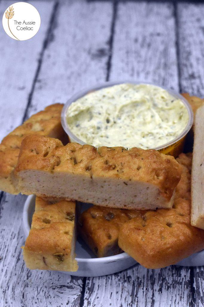 Coles Turkish Bread Focaccia The Aussie Coeliac