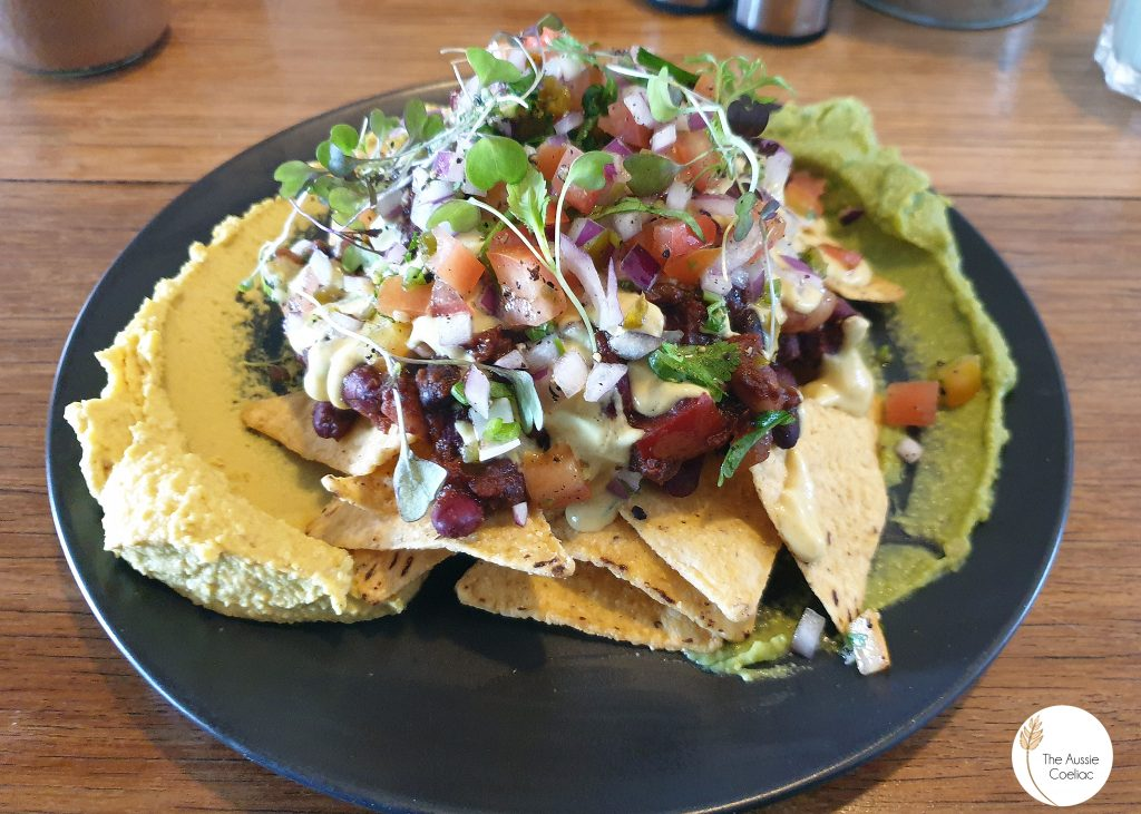 The Alkaline Cafe Nachoes